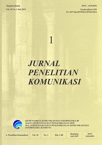 Jurnal Penelitian Komunikasi